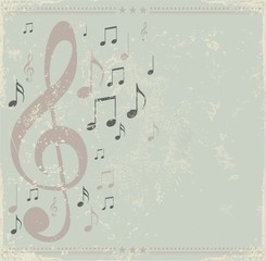 Retro music design.