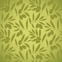 Pattern olive branch