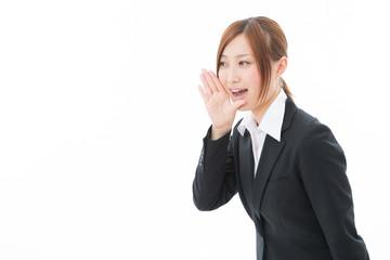 励ます女性 ビジネス