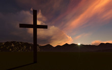 Crosse zachodzie słońca