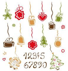 Weihnachten, Nikolaus, Adventkalender