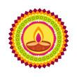 colorful happy diwali