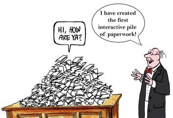 Interactive pile