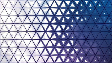 Abstract background from ink triangles
