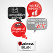 speech bubbles : business plan process