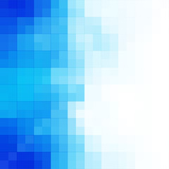 Technology and business concept abstract blue background