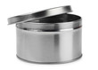 Metal round container