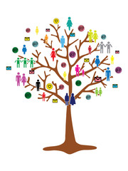 team work tree
