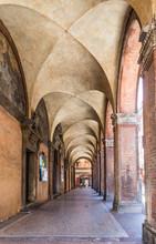 San Luca arcade à Bologne, Italie