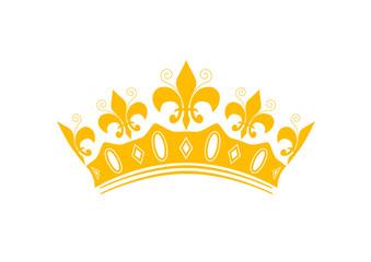 Couronne des rois - sticker - Epiphanie