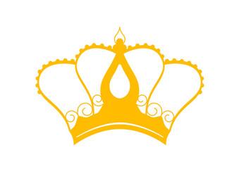 Couronne des rois - type pape - sticker - Epiphanie