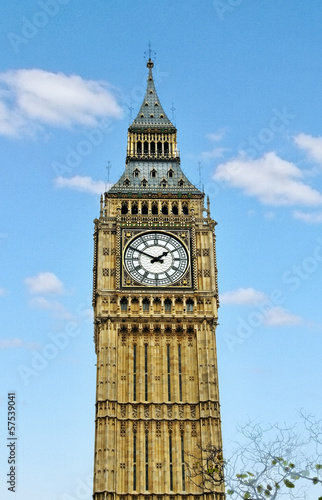 Big Ben in Westminster.
