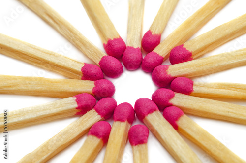 Matches in star form