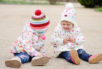 playful children