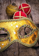 carnival,new year's mask