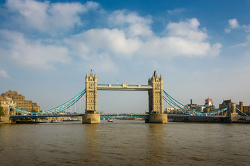 Tower Bridge in London, England, UK