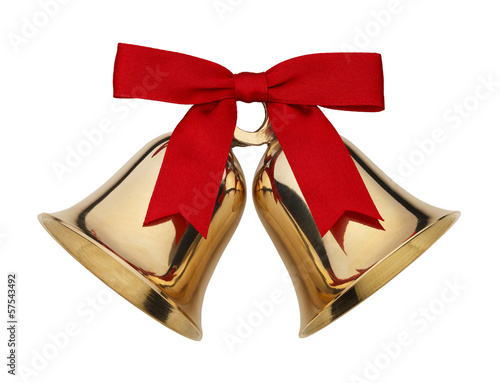 Leinwanddruck Bild Christmas Bells