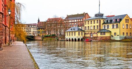 Nice houses in Petite-France in Strasbourg