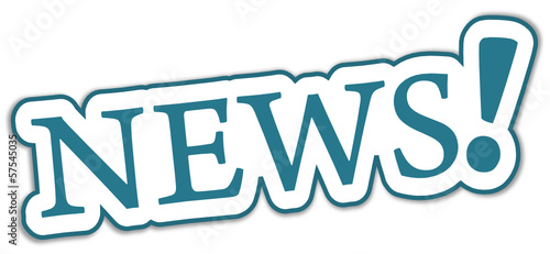 News Sticker blau  #131023-svg07