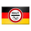fahne deutschland maut-schild I