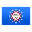 fahne europa maut-schild I