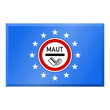 fahne europa maut-schild II