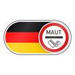 fahne deutschland maut-schild II