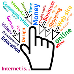 Concept of Internet in some words
