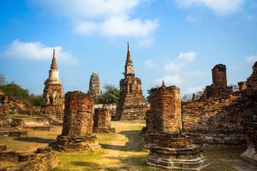 Wat Mahathat temple, Ayutthaya, Thailand.