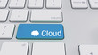3d keyboard Cloud