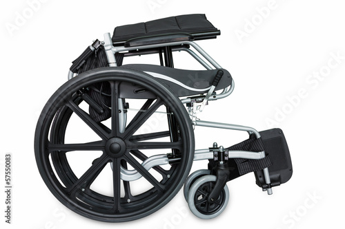 Folded wheel chair