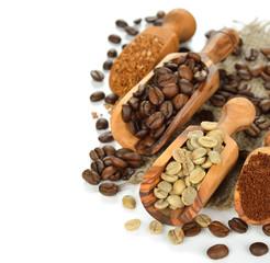 Various coffee