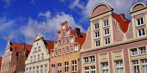 Historische Altstadt von LÜNEBURG ( Niedersachsen )