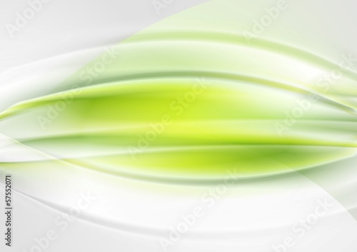 Bright abstract waves vector design