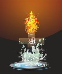 między wodą a ogniem