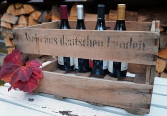 Weinkiste aus deutschen Landen