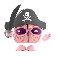 Pirate brain