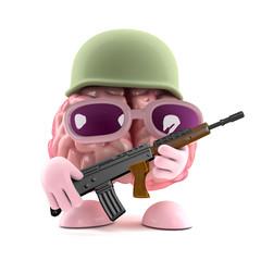 Soldier brain
