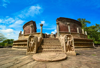Ancient Polonnaruwa city