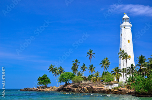 Beautiful Lighthouse and beach - 57555477
