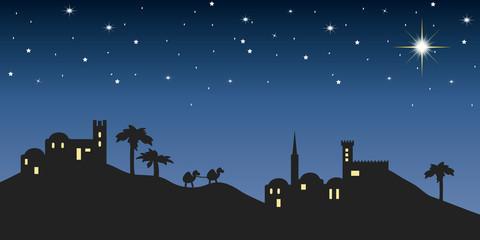 background night bethlehem