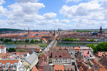 The City of Würzburg in Germany