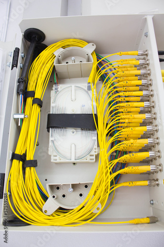 macro fiber optic patch cord fc in wall box