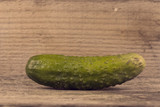 Cucumber with a vintage look