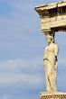 Caryatid sculpture, Acropolis of Athens, Greece