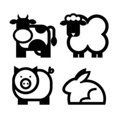 zwierzęta - ikony