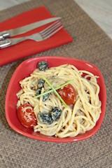 poêlée de spaghetti