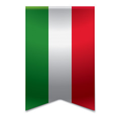 Ribbon banner - hungarian flag