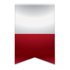 Ribbon banner - maltese flag