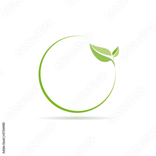 Vector logo clean environment
